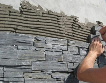 مواد تشکیل دهنده چسب سنگ